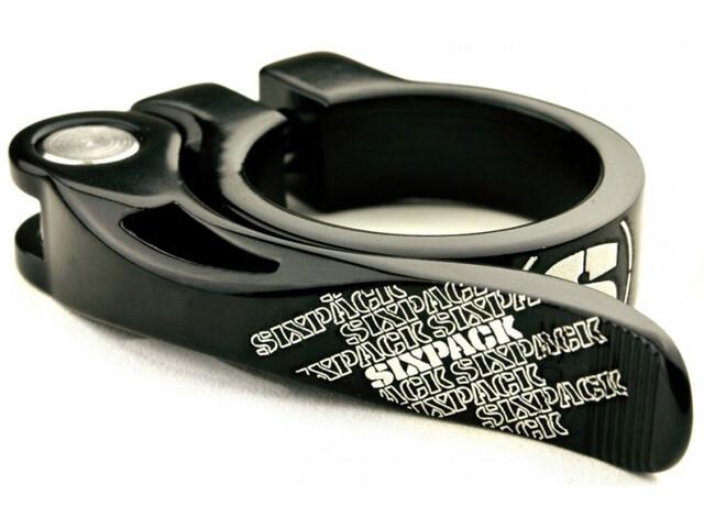 Sixpack Menace Saddle Clamp Ø34,9mm black